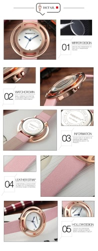 REBIRTH Brand Luxury Diamond Quartz Women Watches Water-Proof PU Leather Ladies Casual Wristwatch Ultra Thin Dial Best GiftApparel &amp; Jewelry<br>REBIRTH Brand Luxury Diamond Quartz Women Watches Water-Proof PU Leather Ladies Casual Wristwatch Ultra Thin Dial Best Gift<br>
