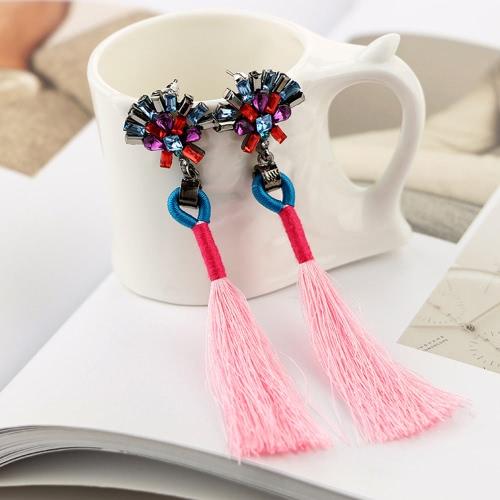 Women Long Tassel Pendant Earrings Crystal Dangle Drop Earrings Fashion Jewelry AccessoryApparel &amp; Jewelry<br>Women Long Tassel Pendant Earrings Crystal Dangle Drop Earrings Fashion Jewelry Accessory<br>