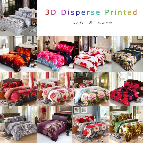 4pcs Queen Size 3D Printed Bedding Set Bedclothes Home Textiles Love Heart Angel Pattern Quilt Cover + Bed Sheet + 2 PillowcasesHome &amp; Garden<br>4pcs Queen Size 3D Printed Bedding Set Bedclothes Home Textiles Love Heart Angel Pattern Quilt Cover + Bed Sheet + 2 Pillowcases<br>