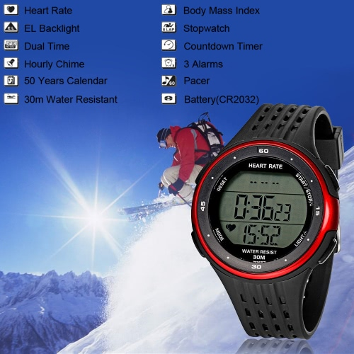 High Quality Water Resistant Outdoor Sports Multifunction WristwatchApparel &amp; Jewelry<br>High Quality Water Resistant Outdoor Sports Multifunction Wristwatch<br>
