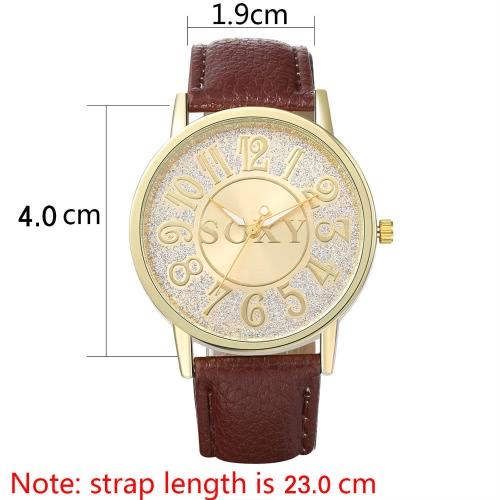 SOXY Business Casual Wrap Wrist Quartz Electronic WatchApparel &amp; Jewelry<br>SOXY Business Casual Wrap Wrist Quartz Electronic Watch<br>