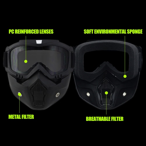 F-002 Motorcycle Cross Country Mask GogglesSports &amp; Outdoor<br>F-002 Motorcycle Cross Country Mask Goggles<br>
