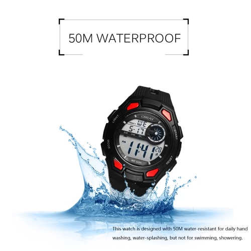DIRAY 50M Water-resistant Large Dial Digital Men Watches Sport Wristwatches Luminous Military Relogio MasculinoApparel &amp; Jewelry<br>DIRAY 50M Water-resistant Large Dial Digital Men Watches Sport Wristwatches Luminous Military Relogio Masculino<br>