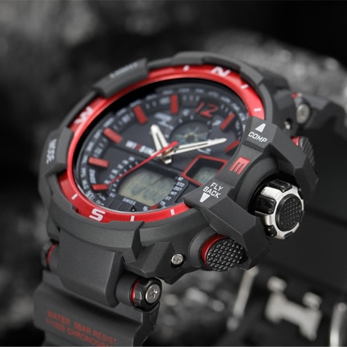 Wissin Outdoor 5ATM Water-resistant Watch Quartz Watches Men Sport Wristwatches Relogio Musculino Calendar BacklightApparel &amp; Jewelry<br>Wissin Outdoor 5ATM Water-resistant Watch Quartz Watches Men Sport Wristwatches Relogio Musculino Calendar Backlight<br>