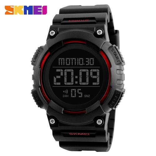 SKMEI Sport Digital Wristwatches Men Watches 5ATM Water-resistant Watch Male BacklightApparel &amp; Jewelry<br>SKMEI Sport Digital Wristwatches Men Watches 5ATM Water-resistant Watch Male Backlight<br>