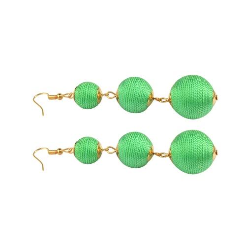 Fashion Popular Classic Bohemian Wire Curled Balls Line Ear Drop Earrings for Women Travel Jewelry GiftApparel &amp; Jewelry<br>Fashion Popular Classic Bohemian Wire Curled Balls Line Ear Drop Earrings for Women Travel Jewelry Gift<br>