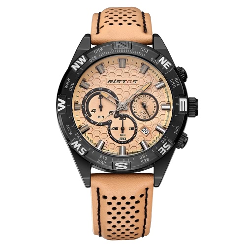 RISTOS 3ATM Water-resistant Sport Watch Men Quartz Watches Male Wristwatch CalendarApparel &amp; Jewelry<br>RISTOS 3ATM Water-resistant Sport Watch Men Quartz Watches Male Wristwatch Calendar<br>