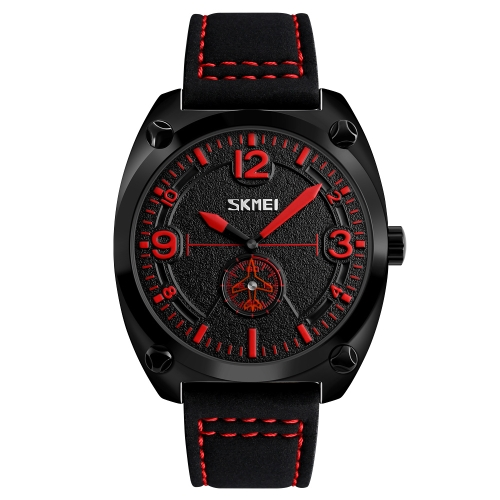 SKMEI Fashion Casual Quartz Watch 3ATM Water-resistant Men Watches Genuine Leather Wristwatch MaleApparel &amp; Jewelry<br>SKMEI Fashion Casual Quartz Watch 3ATM Water-resistant Men Watches Genuine Leather Wristwatch Male<br>