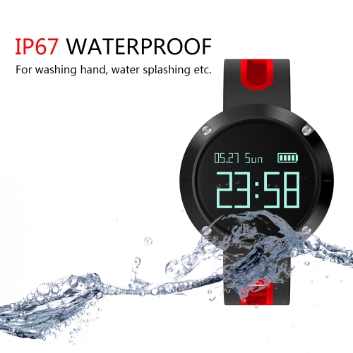 Smart Watch 0.95 OLED Touch Screen BT 4.0 NRF51822 CPU Blood Pressure / Heart Rate Monitor Pedometer Smartwatch for Android 4.4 &amp;Apparel &amp; Jewelry<br>Smart Watch 0.95 OLED Touch Screen BT 4.0 NRF51822 CPU Blood Pressure / Heart Rate Monitor Pedometer Smartwatch for Android 4.4 &amp;<br>