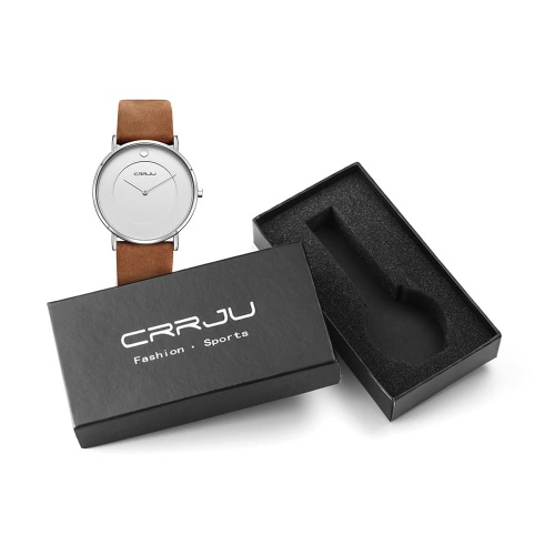 CRRJU Chic Style 3ATM Daily Water Resistant Luxury Men Analog Watch Simple Business WristwatchApparel &amp; Jewelry<br>CRRJU Chic Style 3ATM Daily Water Resistant Luxury Men Analog Watch Simple Business Wristwatch<br>