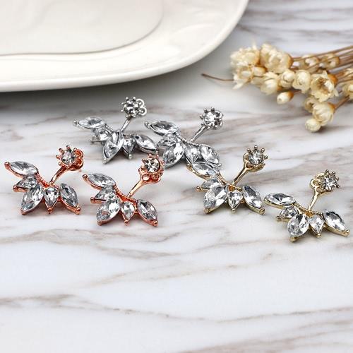 Luxury Clear Rhinestone oval Flower Simple Earrings for Women Fashion Earrings JewelryApparel &amp; Jewelry<br>Luxury Clear Rhinestone oval Flower Simple Earrings for Women Fashion Earrings Jewelry<br>