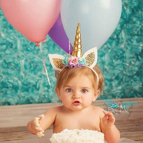 Handmade Glitter Unicorn Horn Headband for Baby Kids Cosplay Photo Props Party CostumeApparel &amp; Jewelry<br>Handmade Glitter Unicorn Horn Headband for Baby Kids Cosplay Photo Props Party Costume<br>
