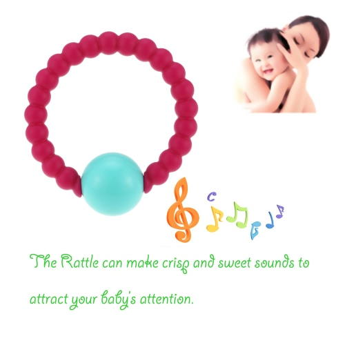 HOT Cute 100% Food Grade Silicone Bracelet Bangles with Round Bell Chewable Beads BPA Free Teethers Nursing Soothing Jewelry Toy fApparel &amp; Jewelry<br>HOT Cute 100% Food Grade Silicone Bracelet Bangles with Round Bell Chewable Beads BPA Free Teethers Nursing Soothing Jewelry Toy f<br>