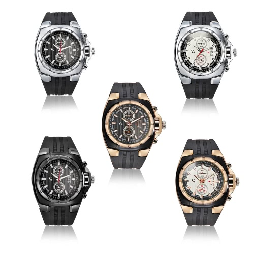 V6 Brand Luxury Fashion Men Casual Wristwatch Analog Sports Style Mans Quartz Watch with Date 2 Sub-dialApparel &amp; Jewelry<br>V6 Brand Luxury Fashion Men Casual Wristwatch Analog Sports Style Mans Quartz Watch with Date 2 Sub-dial<br>