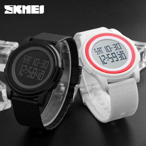 SKMEI 5ATM Water Resistant Fashion Digital Casual Sports Wrist Watch Classy Lightweight Watch with CalendarApparel &amp; Jewelry<br>SKMEI 5ATM Water Resistant Fashion Digital Casual Sports Wrist Watch Classy Lightweight Watch with Calendar<br>