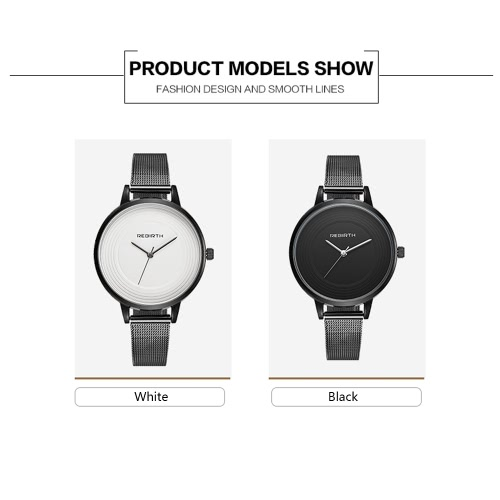 REBIRTH Brand Modern Simplicity Stainless Steel Women Watches Quartz Water-Proof Bracelet Watch Ladies Casual Wrist Watch Best GifApparel &amp; Jewelry<br>REBIRTH Brand Modern Simplicity Stainless Steel Women Watches Quartz Water-Proof Bracelet Watch Ladies Casual Wrist Watch Best Gif<br>