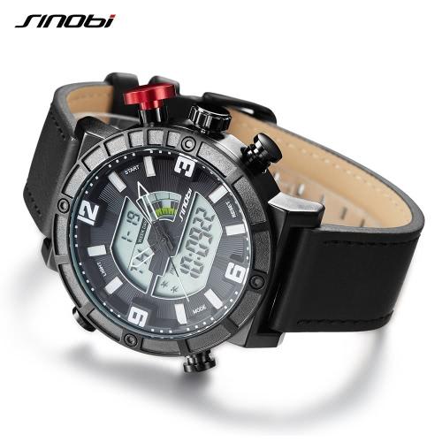 SINOBI Sport Quartz Watch 3ATM Water-resistant Men Watches Backlight Wristwatches Male ChronographApparel &amp; Jewelry<br>SINOBI Sport Quartz Watch 3ATM Water-resistant Men Watches Backlight Wristwatches Male Chronograph<br>