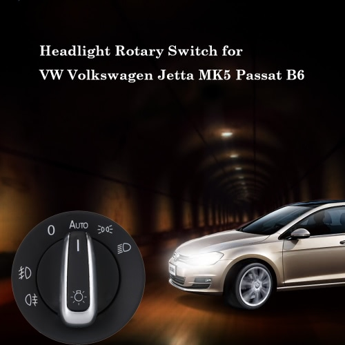 Car Headlight Switch for VW Volkswagen Jetta MK5 Passat B6Car Accessories<br>Car Headlight Switch for VW Volkswagen Jetta MK5 Passat B6<br>