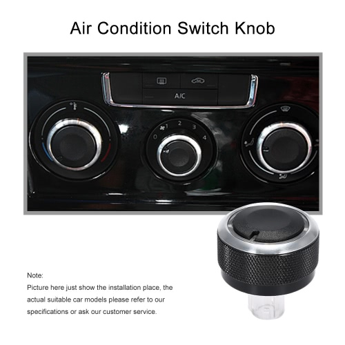 Air Condition Panel Control Switch Knob for VW Golf Jetta Mk5 Passat B6Car Accessories<br>Air Condition Panel Control Switch Knob for VW Golf Jetta Mk5 Passat B6<br>