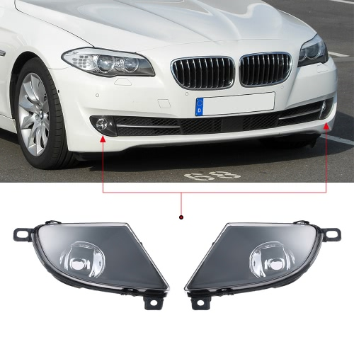 1 Pair Left &amp; Right Front Fog Light Lampshade Bulb Cover Set for BMW 5 SERIES E60 2008-2015Car Accessories<br>1 Pair Left &amp; Right Front Fog Light Lampshade Bulb Cover Set for BMW 5 SERIES E60 2008-2015<br>