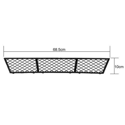 Car Front Lower Bumper Center Grille for BMW F10/F18 2010-2014Car Accessories<br>Car Front Lower Bumper Center Grille for BMW F10/F18 2010-2014<br>