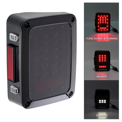 Pair of Smoked LED Rear Tail LightsCar Accessories<br>Pair of Smoked LED Rear Tail Lights<br>