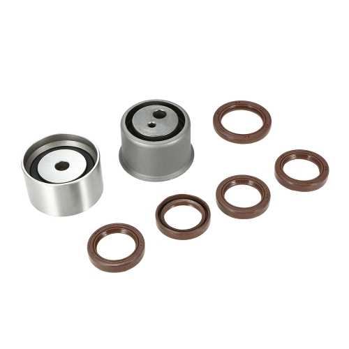 Timing Belt Kit Hydraulic Tensioner Water Pump Fits 99-10 Hyundai Kia 2.7LCar Accessories<br>Timing Belt Kit Hydraulic Tensioner Water Pump Fits 99-10 Hyundai Kia 2.7L<br>