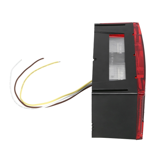 1 Pair LED Tail Lights Left Right Submersible Red Trailer Boat Stop Turn Tail LightsCar Accessories<br>1 Pair LED Tail Lights Left Right Submersible Red Trailer Boat Stop Turn Tail Lights<br>