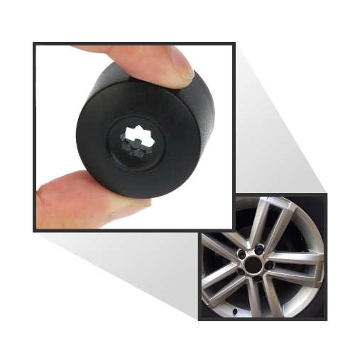 20Pcs 17mm Car Wheel Nut Cover Bolt Cap Removal Tool for VW Golf Bora PassatCar Accessories<br>20Pcs 17mm Car Wheel Nut Cover Bolt Cap Removal Tool for VW Golf Bora Passat<br>