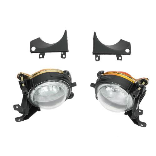 1 paire gauche et avant droite Fog Light sans ampoules Kit de remplacement pour BMW E39 de 1.999 à 2.004