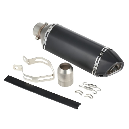38-51mm Black Small Hexagonv Oblique Tail Refit Exhaust Muffler With Fit For Motorcycles ATV UniversalCar Accessories<br>38-51mm Black Small Hexagonv Oblique Tail Refit Exhaust Muffler With Fit For Motorcycles ATV Universal<br>