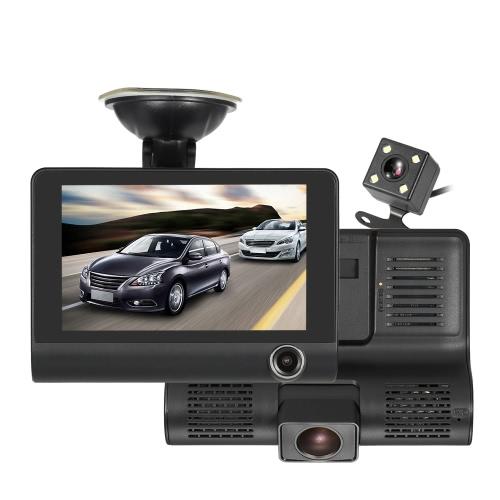 KKMOON 4 1080P Three Lens Car DVR Dash Cam Camera Camcorder Night VisionCar Accessories<br>KKMOON 4 1080P Three Lens Car DVR Dash Cam Camera Camcorder Night Vision<br>