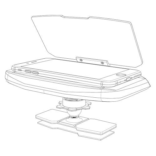 New 6.5Inch Smartphone HUD NavigationCar Accessories<br>New 6.5Inch Smartphone HUD Navigation<br>