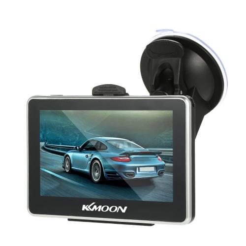 KKmoon Navegação GPS Portátil de 4,3 polegadas 128M + 8GB