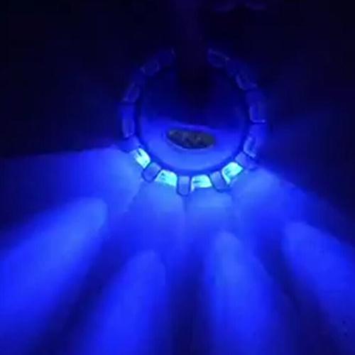 LED Road Flares Flashing Warning Light  Roadside Safety Light for Car Boat Truck  BlueCar Accessories<br>LED Road Flares Flashing Warning Light  Roadside Safety Light for Car Boat Truck  Blue<br>