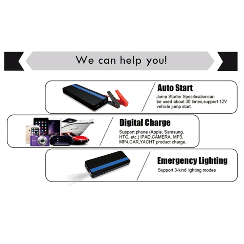 KKMOON Jump Start Car  700A 18000mAh  Multifunction Jump Starter  (up to 7 L Gas, 4.5L Diesel Engine)Battery Booster and Phone ChaCar Accessories<br>KKMOON Jump Start Car  700A 18000mAh  Multifunction Jump Starter  (up to 7 L Gas, 4.5L Diesel Engine)Battery Booster and Phone Cha<br>