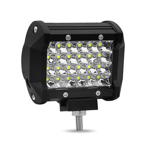 4inch 72W LED Barre de Lumière Quad Faisceau Spot LED Cubes Lumières de Travail Conduire Brouillard Lampes 24 Lampe Perles