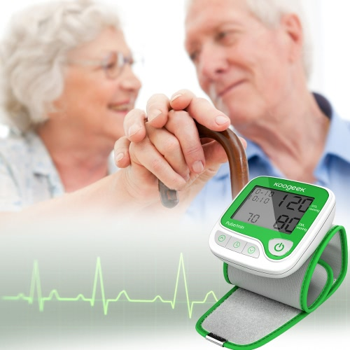 Koogeek Smart Wrist Blood Pressure Monitor with Heart Rate Detection and Memory Function Fully Automatic for Home UseSmart Device &amp; Safety<br>Koogeek Smart Wrist Blood Pressure Monitor with Heart Rate Detection and Memory Function Fully Automatic for Home Use<br>