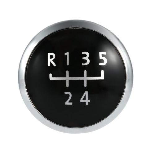 5 velocità Gear manopola distintivo emblema tappo manopola coperchio ricambio per VW T5 Transporter 2003-2010