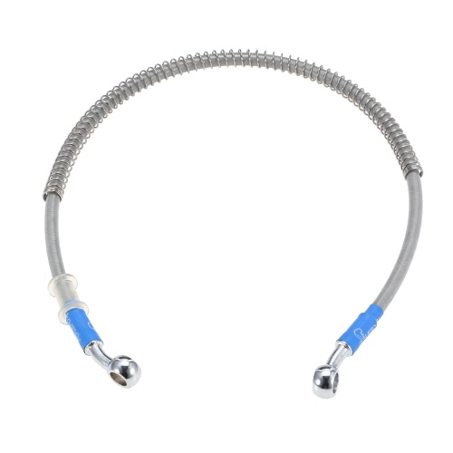 60cm Motorcycle Brake Oil Hose Line Banjo Fitting Stainless Steel BraidedCar Accessories<br>60cm Motorcycle Brake Oil Hose Line Banjo Fitting Stainless Steel Braided<br>