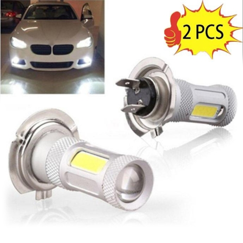 2 Pcs High Power COB LED Fog Light H4 Car Driving Lamp 80WCar Accessories<br>2 Pcs High Power COB LED Fog Light H4 Car Driving Lamp 80W<br>