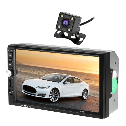 KKmoon 7 inch Universal 2 Din HD BT Car MP5 Radio Player with Rear View CameraCar Accessories<br>KKmoon 7 inch Universal 2 Din HD BT Car MP5 Radio Player with Rear View Camera<br>