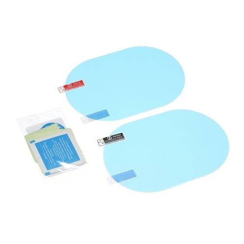 Pellicola protettiva per specchietto retrovisore per auto 2PC anti vetrofania Pellicola protettiva per specchietto retrovisore antipioggia trasparente antipioggia