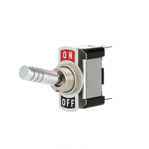 12V Metal Toggle Flick ON/OFF Switch Car DIY Parts SPSTCar Accessories<br>12V Metal Toggle Flick ON/OFF Switch Car DIY Parts SPST<br>