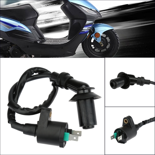Ignition Coil GY6 50-150cc with Cable for ATVs Scooters Go Karts High PerformanceCar Accessories<br>Ignition Coil GY6 50-150cc with Cable for ATVs Scooters Go Karts High Performance<br>