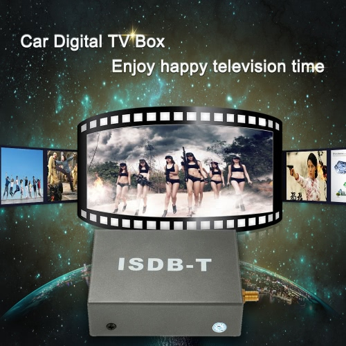 Car Digital Mini TV Box ISDB-T Analog TV Strong Signal Receiver for Car DVD Player Monitor with Antenna Remote ControllerCar Accessories<br>Car Digital Mini TV Box ISDB-T Analog TV Strong Signal Receiver for Car DVD Player Monitor with Antenna Remote Controller<br>