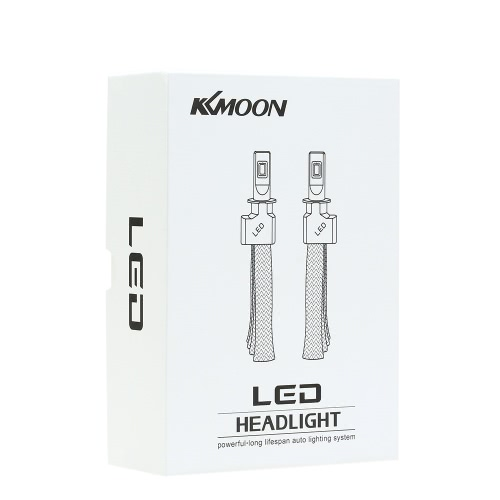 KKmoon 1 Pair of 30W 3200LM H11 COB Chip LED Headlight Fog Light 12V 24V Car Upgrade Replacement Bulb Beam Kit 6000K WhiteCar Accessories<br>KKmoon 1 Pair of 30W 3200LM H11 COB Chip LED Headlight Fog Light 12V 24V Car Upgrade Replacement Bulb Beam Kit 6000K White<br>