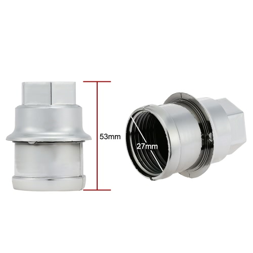 20pcs Plastic Wheel Lug Nut Covers Replaces  # 12472838Car Accessories<br>20pcs Plastic Wheel Lug Nut Covers Replaces  # 12472838<br>