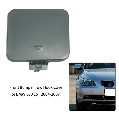 Front Bumper Tow Hook Cover Cap for BMW E60 E61 5 Series 520d 520i 523li 525li 530li 2004-2007 51117111787Car Accessories<br>Front Bumper Tow Hook Cover Cap for BMW E60 E61 5 Series 520d 520i 523li 525li 530li 2004-2007 51117111787<br>