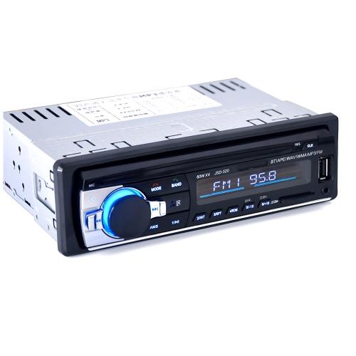 Ricevitore per lettore audio radio stereo auto veicolo multifunzione BT